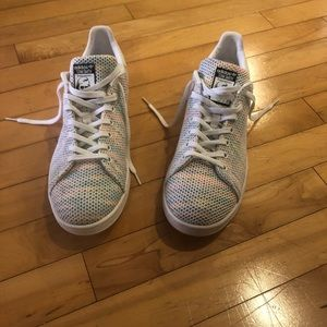 Multi Color (rainbow) Never Worn Stan Smith's